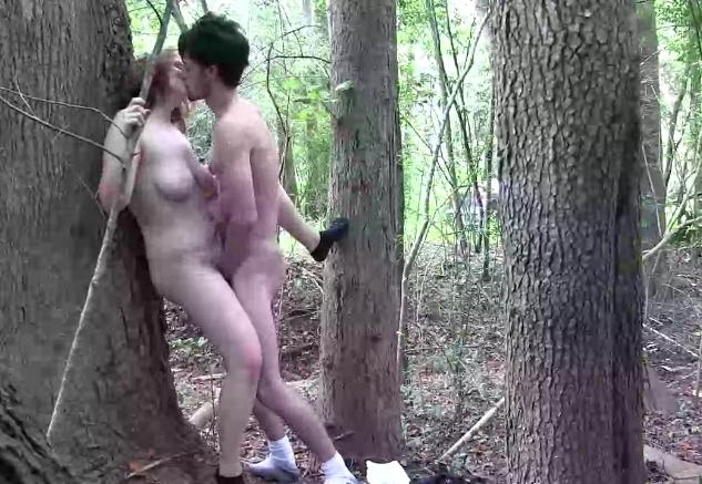Wald ficken im Olle