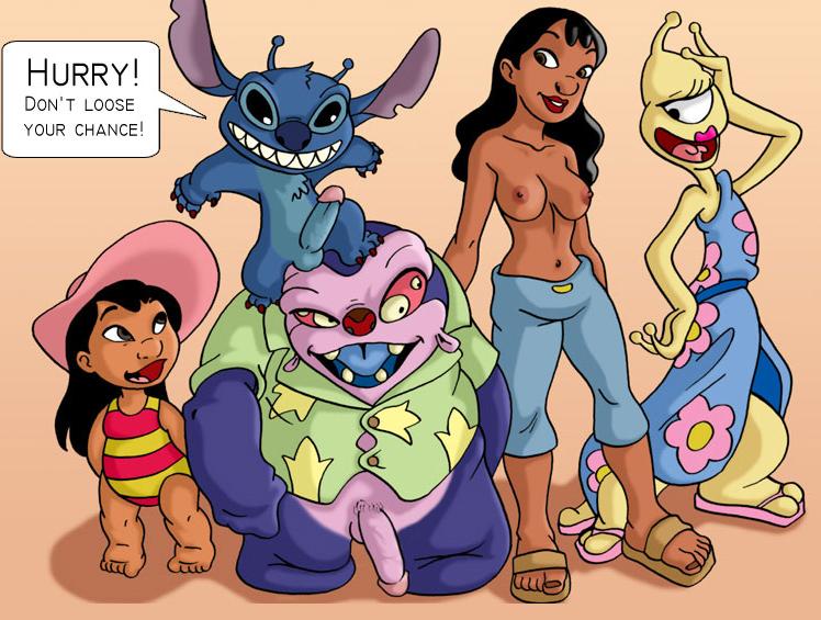 lilo und stitch porno comic