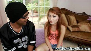 Asian pussy black x video