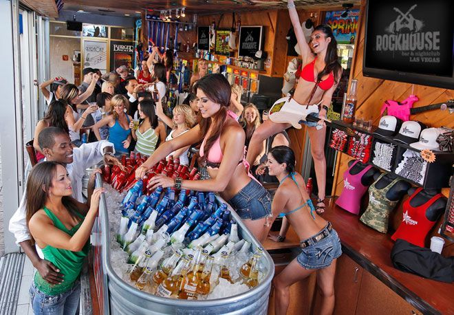Bars on the las vegas strip