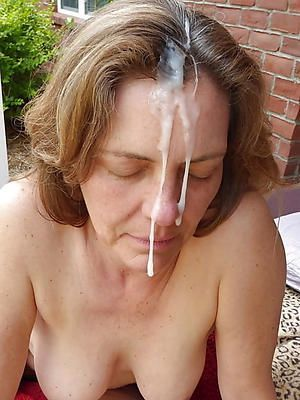 Mature women facial